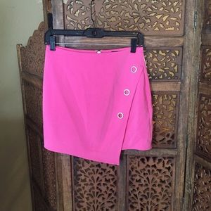 NEW Hours Ring Hot Pink Mini Skirt